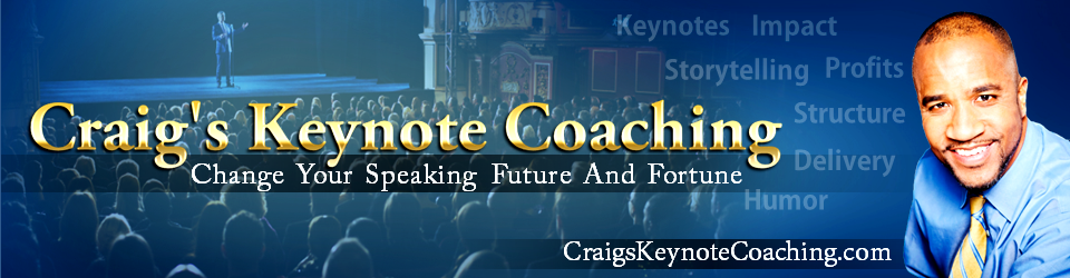 Craigs Keynote Coaching