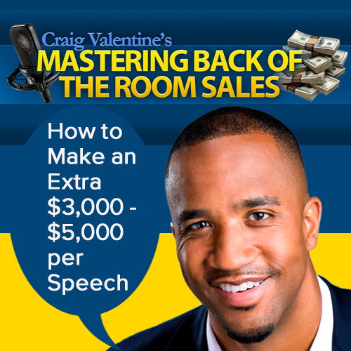 Mastering Back of the Room Sales Home-Study Course for Speakers