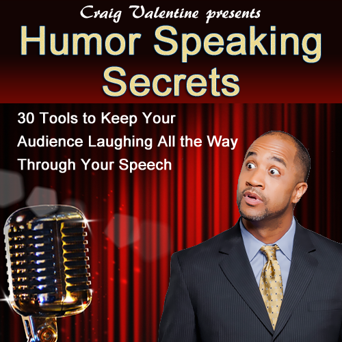 "However, this new program is ""Half as long and twice as strong."" That's right, you get all 50 Speaking Secrets over a period of just 25 weeks and this time they're videos! Click here for instant access."