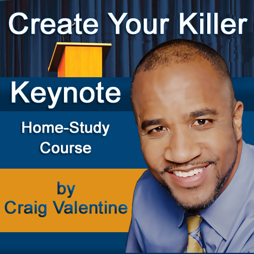 Create Your Killer Keynote Home-Study Course for Speakers