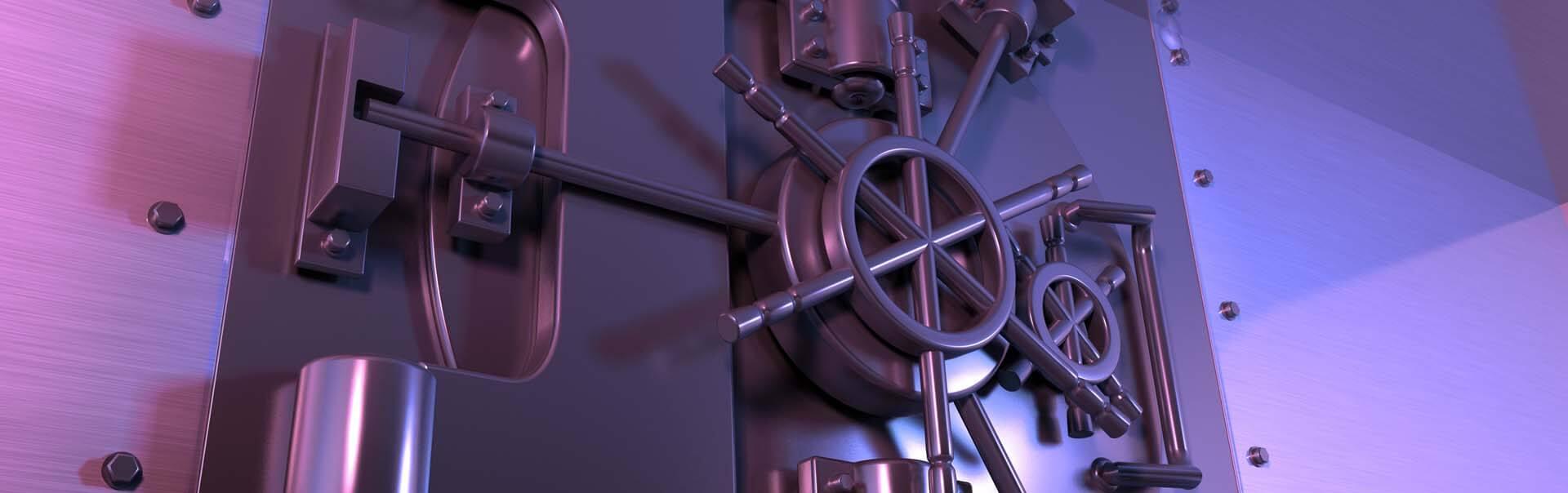 Locked vault