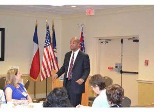 Speaking in Lafayette, Louisiana